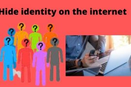 hide identity on the internet