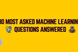 30 machine learning questions